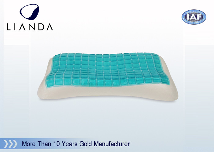 Festival Promotional Cooling Gel Memory Foam Pillow , 100% Natural Ice Gel Pillow
