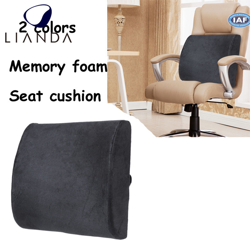 Memory Foam Back Cushion Lumbar Support for Car Seat,lumbar support back rest cushion