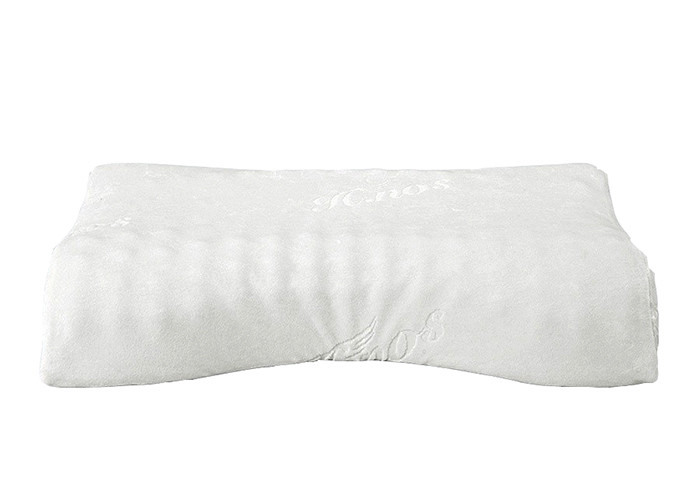 Customise Contour Memory Foam Pillow , Hypoallergenic Orthopedic Pillow For Neck Pain Relief