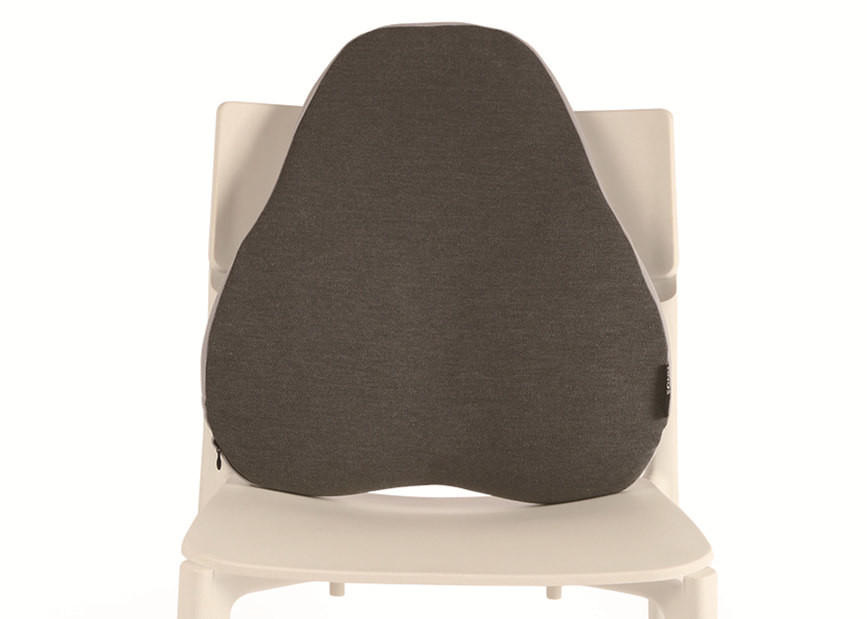 Memory Foam Pearl-Shaped Back Cushion Chair Pillow Customizable For Lower Back Pain